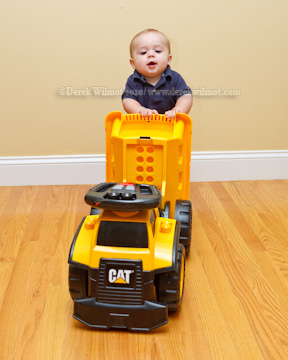 CAT 3 in 1 Dump Truck by Mega Brands