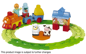 Mega Bloks Play n' Go Musical Train Set