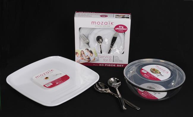 Mozaik Dinnerware Entertaining Service for 8
