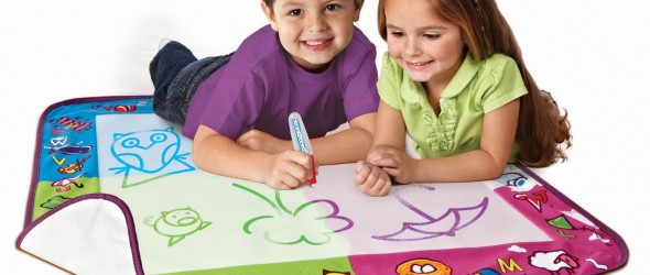 Aquadoodle: The Safest Way To Teach Kids About Coloring