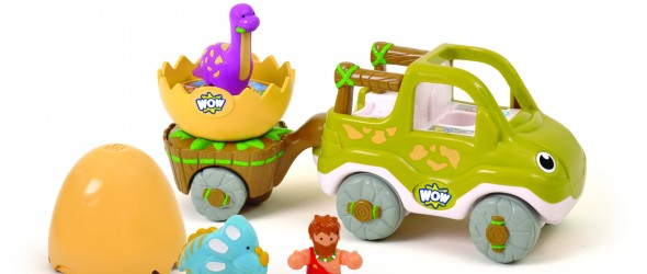 WOW Brand Toy Vehicle Play Sets for Preschoolers