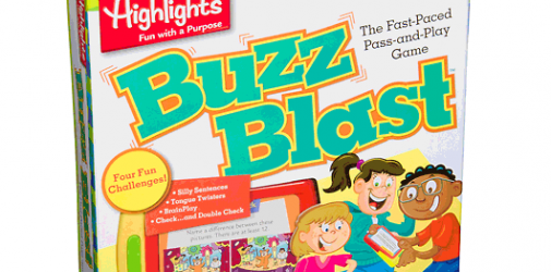 Buzz Blast Game Includes Highlights Hidden Pictures