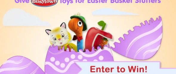 Easter Basket Ideas With Richard Scarry Busytown Toys (Contest)