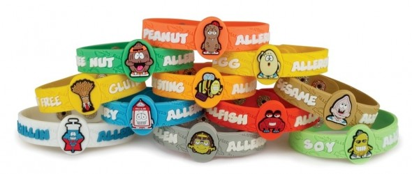 AllerMates: Allergy Bracelets for Kids