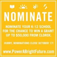 Clorox Power A Bright Future Grants for Classrooms