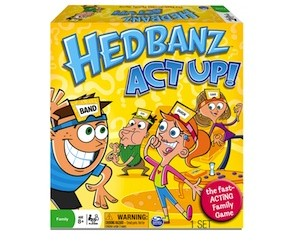 Hedbanz Act Up Family Game Review