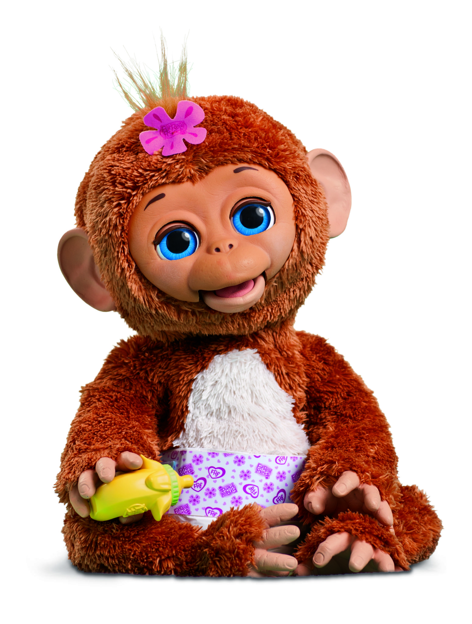 Furreal Friends Cuddles My Giggle Monkey Pet Copy