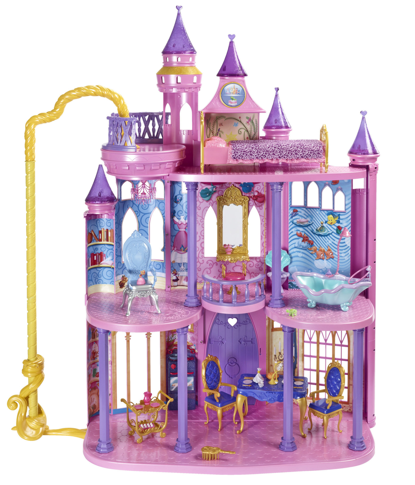 mattel disney princess ultimate dream castle