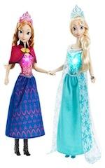 Frozen Anna & Elsa Singing Dolls by Disney Store