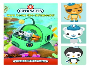 Octonauts DVD, Octonauts characters