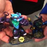 new skylanders swap force, toyqueen, toy fair 2014, dune bug, trap shadow