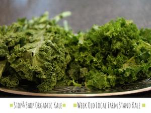 kale, organic kale, farm stand kale