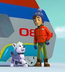 New Pup on Paw Patrol Everest!