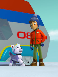 Meet Newest Pup on Paw Patrol – Everest
