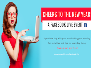 Cheers to the New Year Facebook Live Event