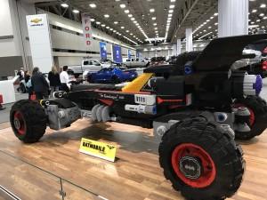 LEGO Batman Batmobile Dallas Auto Show