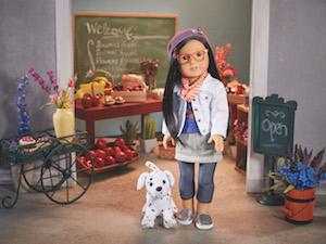 Meet The Korean-American American Girl Doll Z-Yang