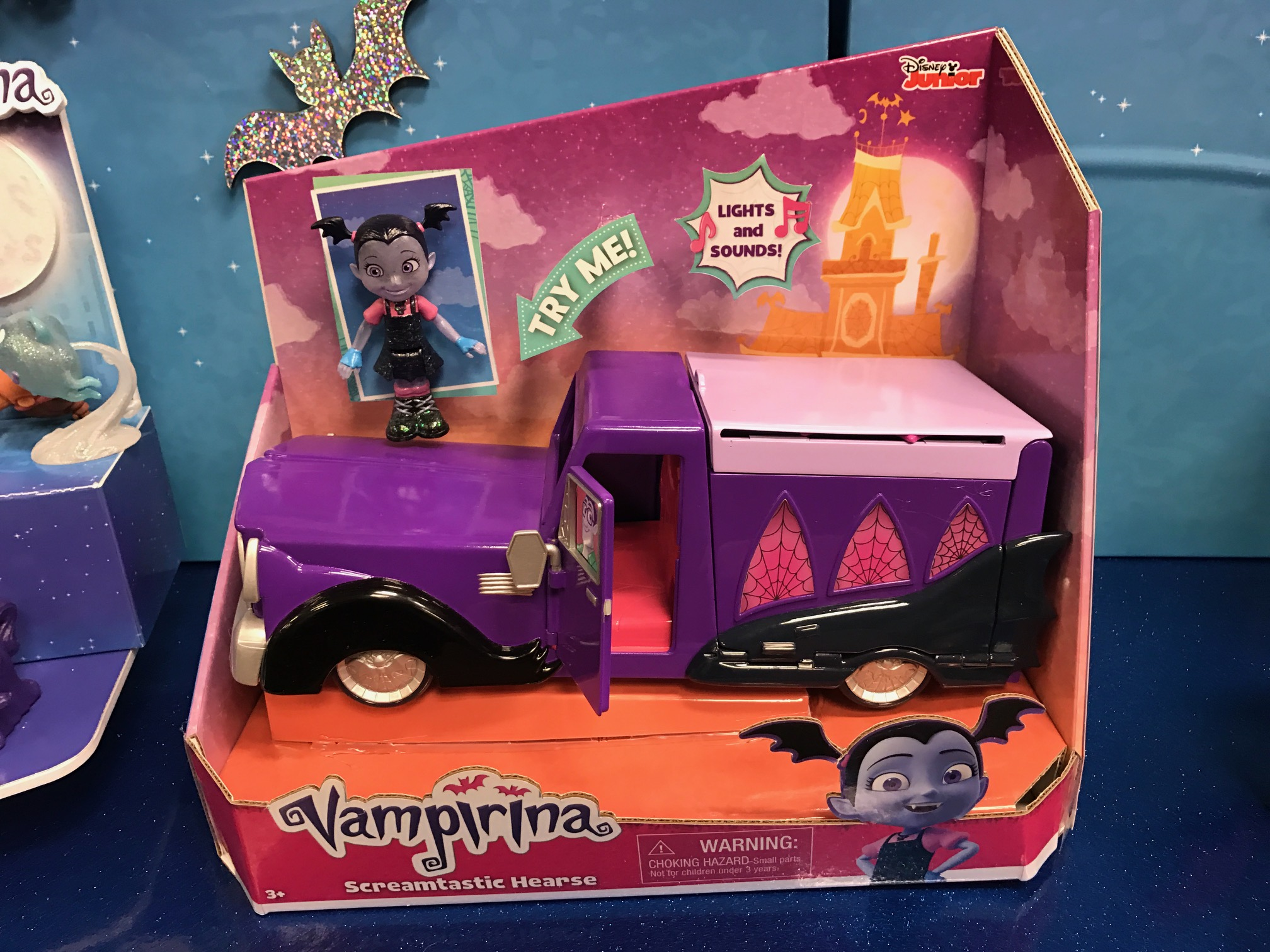 new vampirina screamtastic hearse toy